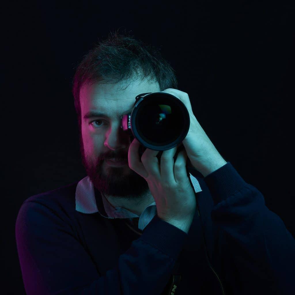 photo portrait William Lacaule, photographe dans les Landes